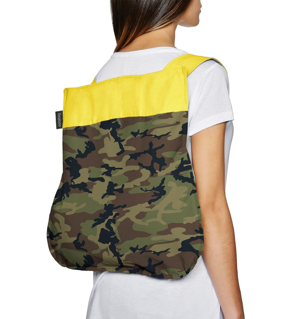 Notabag Camouflage – Yellow
