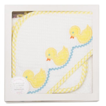 Ducky Towel and Cloth Set