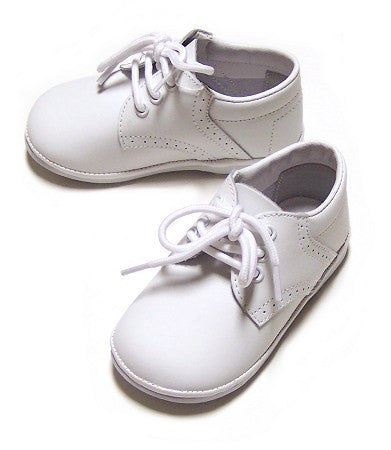White Boys Baby Shoes