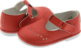 Red T-Strap Mary Jane