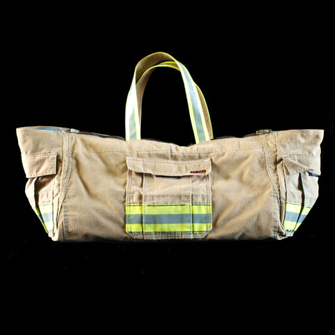 yoga bag - recycled fire turnout gear