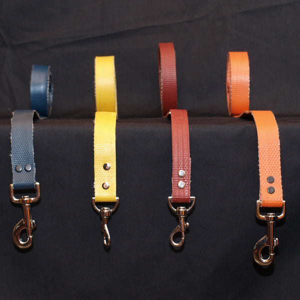 pet leash - recycled fire hose