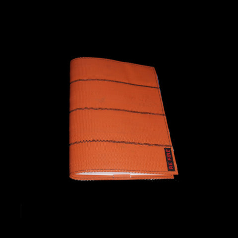 booklet - book - sketchbook - notebook - recycled fire hose