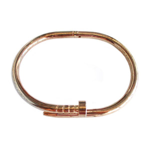 Brazalete Tornillo Rose Gold