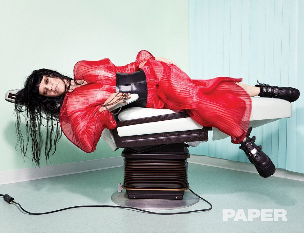 Katy Perry in Sid Neigum SS19 for Paper Magazine