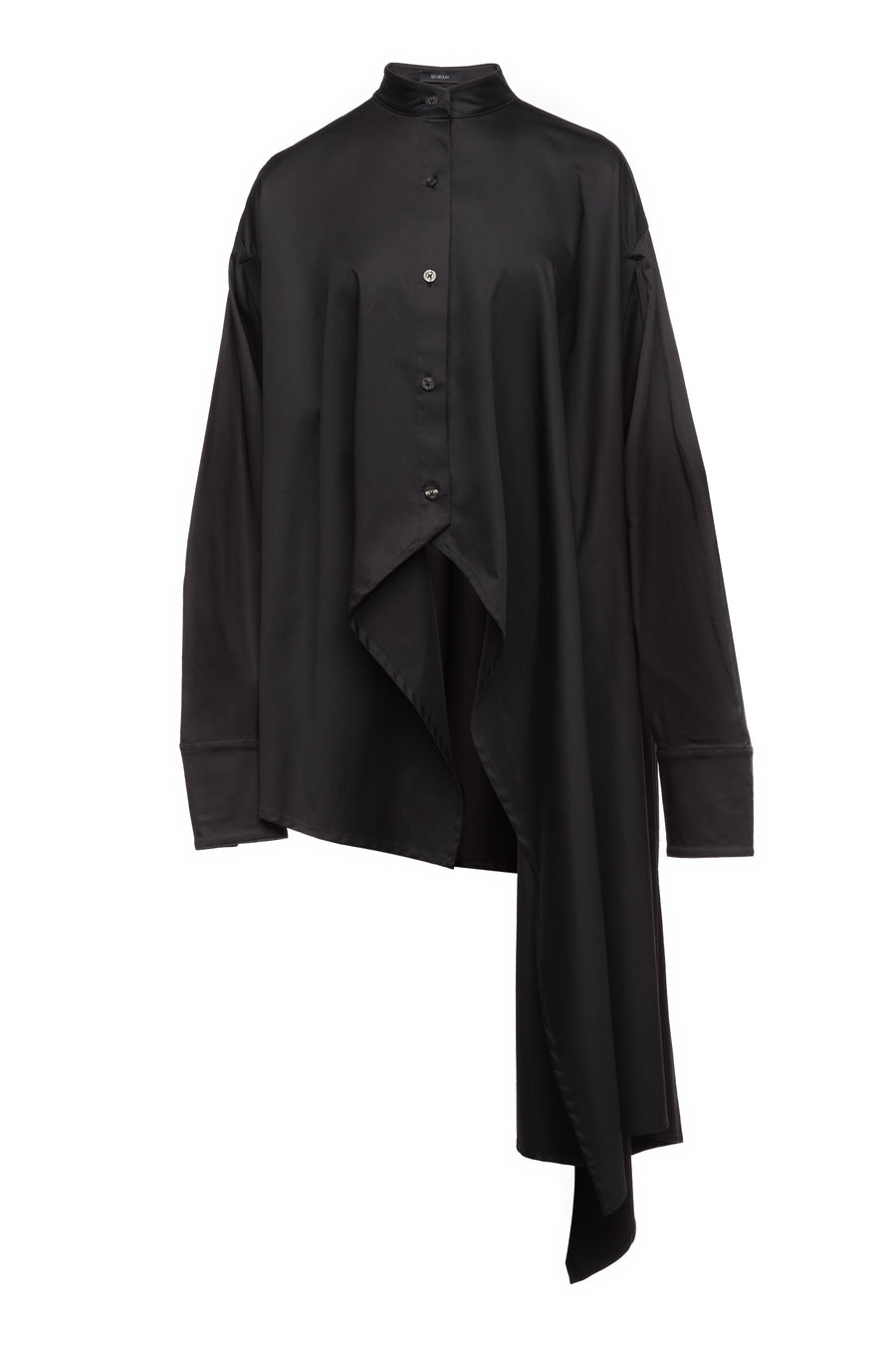 Sid Neigum Oversized Asymmetrical Button-Up Off Figure FW19