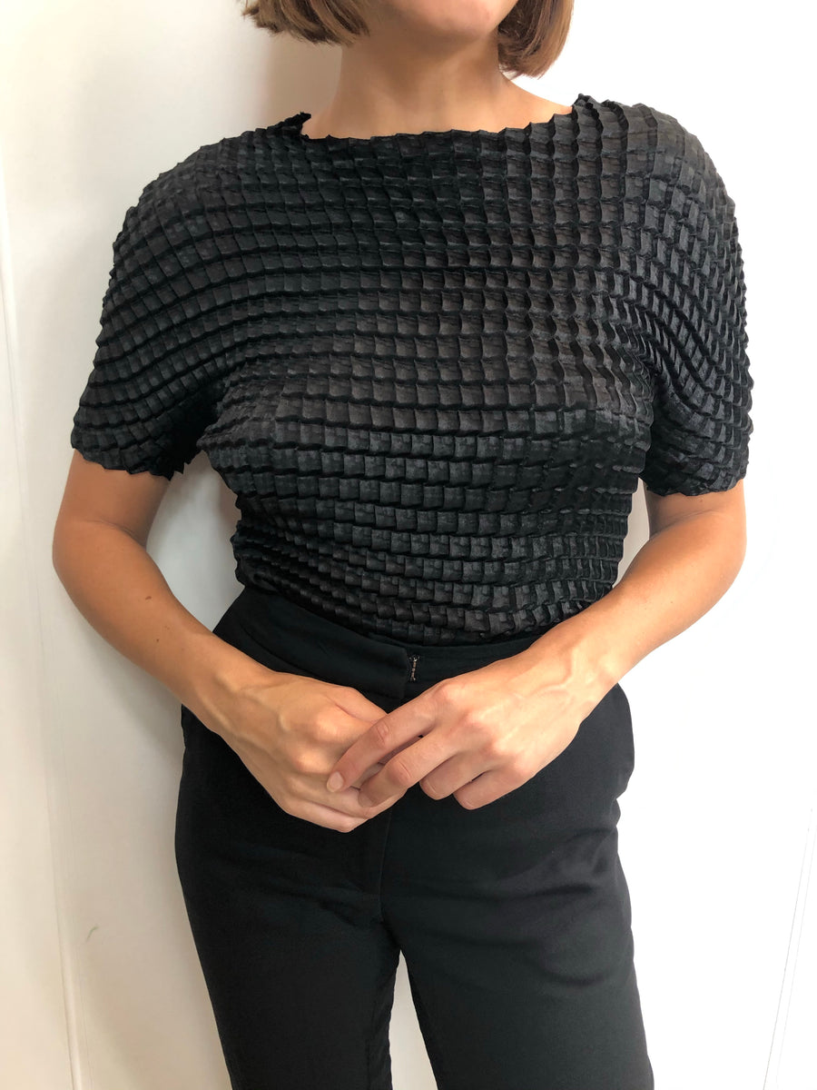 Double Knife Pleated Blouse