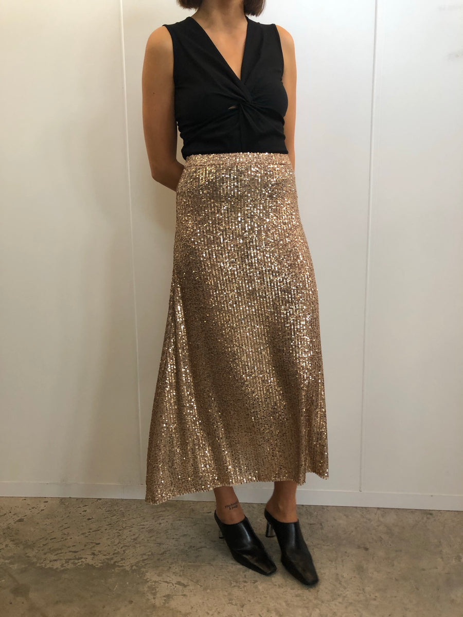 Adele Sequin Skirt