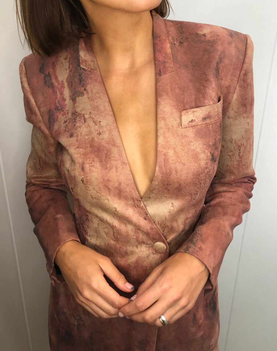 Mars Single Button Blazer