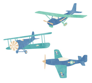 Airplane Fabric Wall Decals - Airplane Stickers