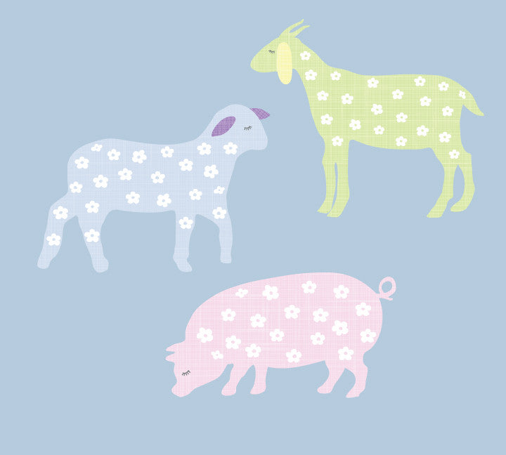 Barnyard Animal Wall Decals