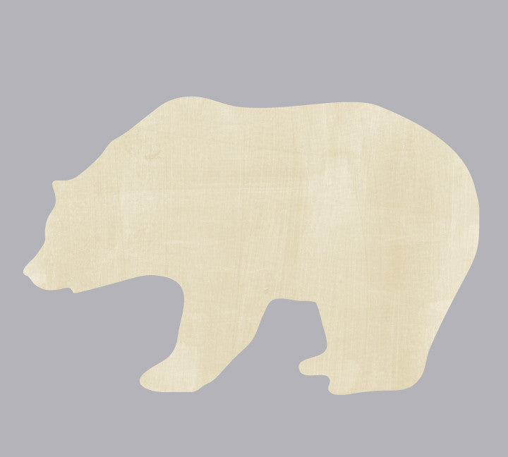Bear Wall Decal - Watercolor Bear Decal