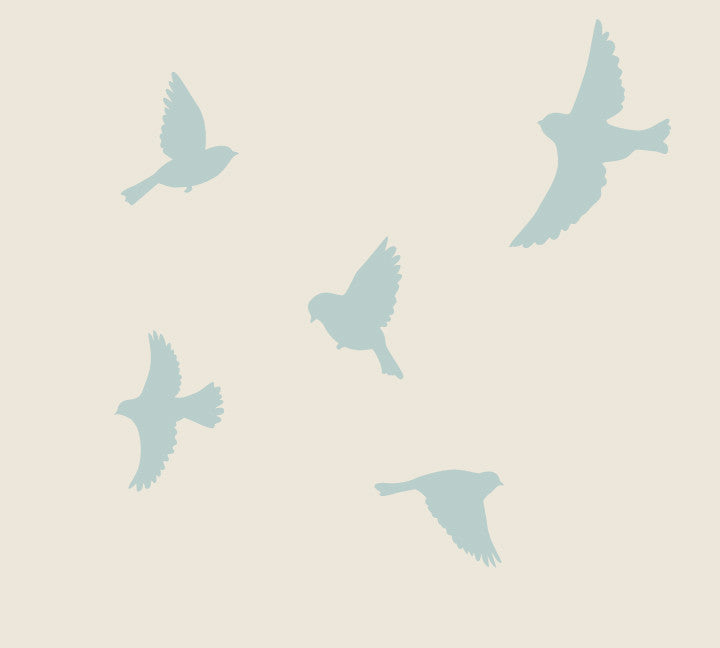 Bird Fabric Wall Decals
