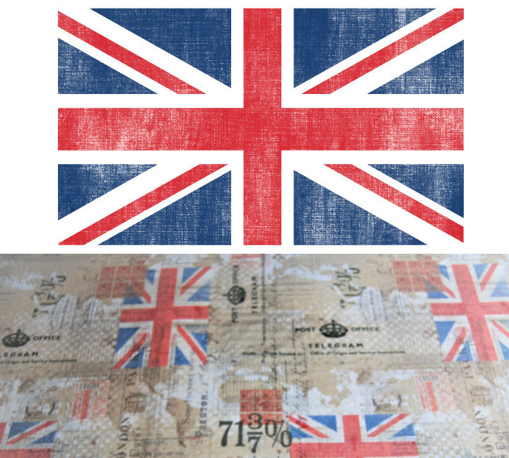British Crib Sheet - Cotton Designer Crib Sheet