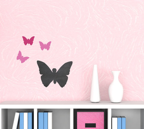 Chalkboard Butterfly Wall Decal - Butterfly Chalkboard Decal