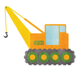 Construction Vehicle Wall Decals - Truck Fabric Wall Decals