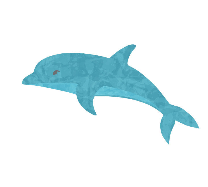Dolphin Fabric Wall Decals