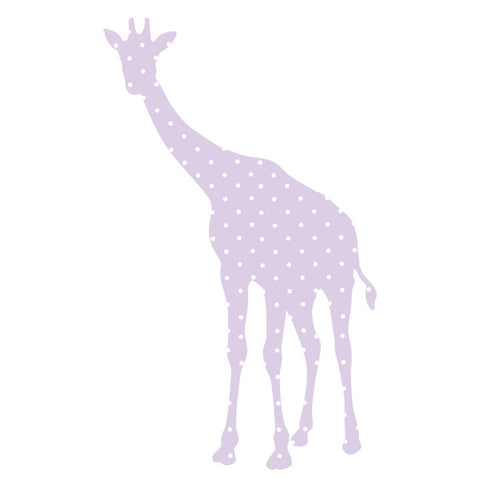 Giraffe Baby Fabric Wall Decal