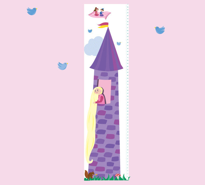 Growth Chart Fairy Tale - Growth Chart Wall Decals