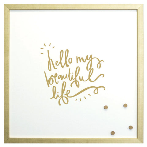 Petal Lane Magnetic Board Hello My Beautiful Life