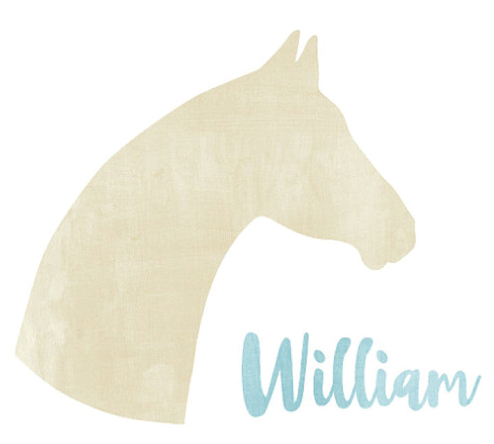Horse Wall Decal - Personalized Wall Decal