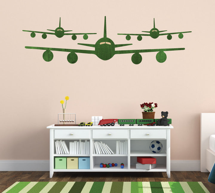Airplane Fabric Wall Decals - Jet Wall Decals