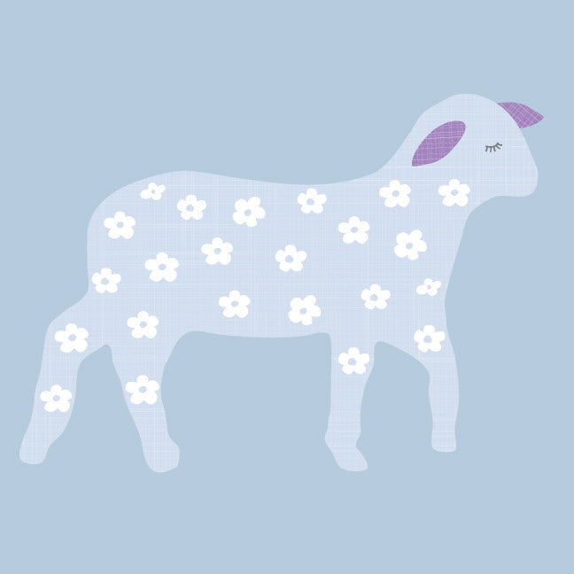 Lamb Fabric Wall Decals