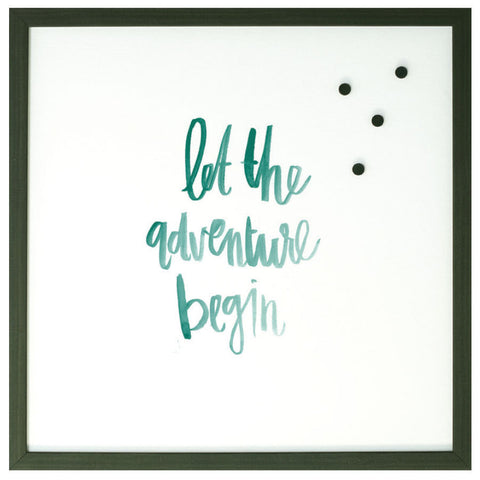 Petal Lane Magnetic Board Let the Adventure Begin