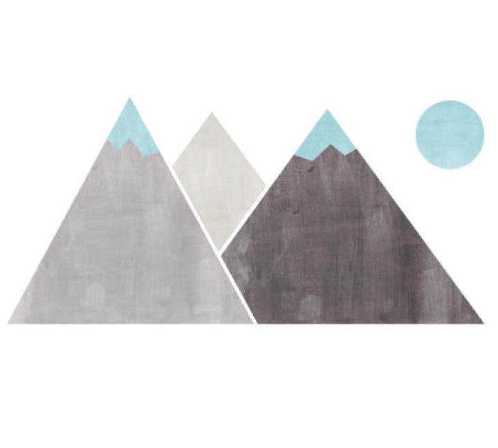 Mountain Fabric Wall Decals