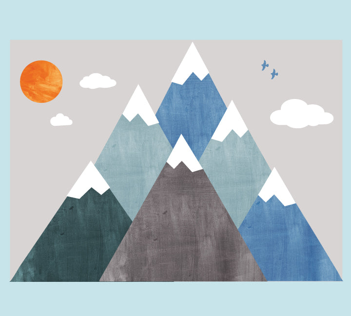 Mountain Wall Decals