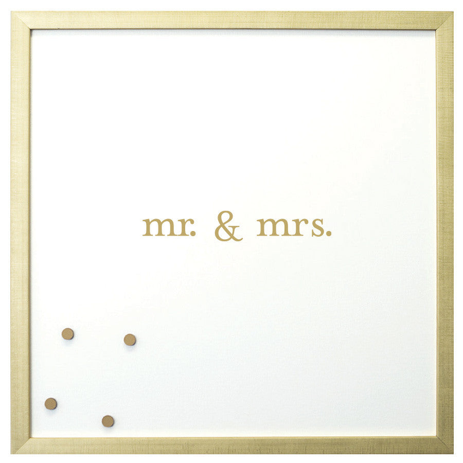 Petal Lane Magnetic Board Mr and Mrs
