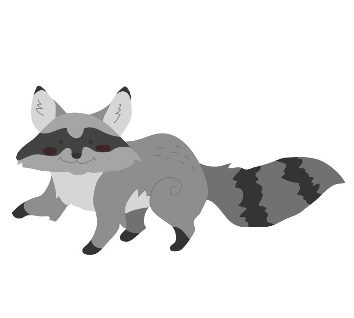 Raccoon Wall Decals