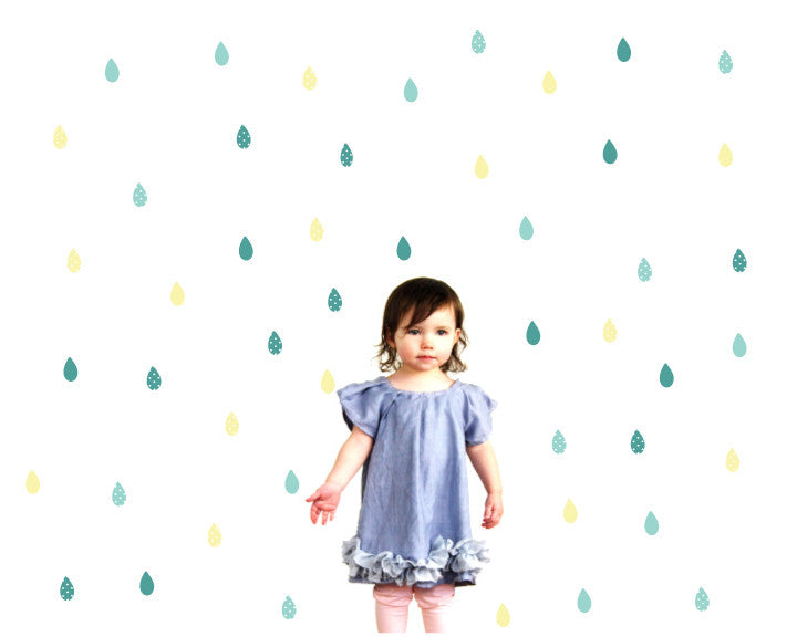 Rain Wall Decals