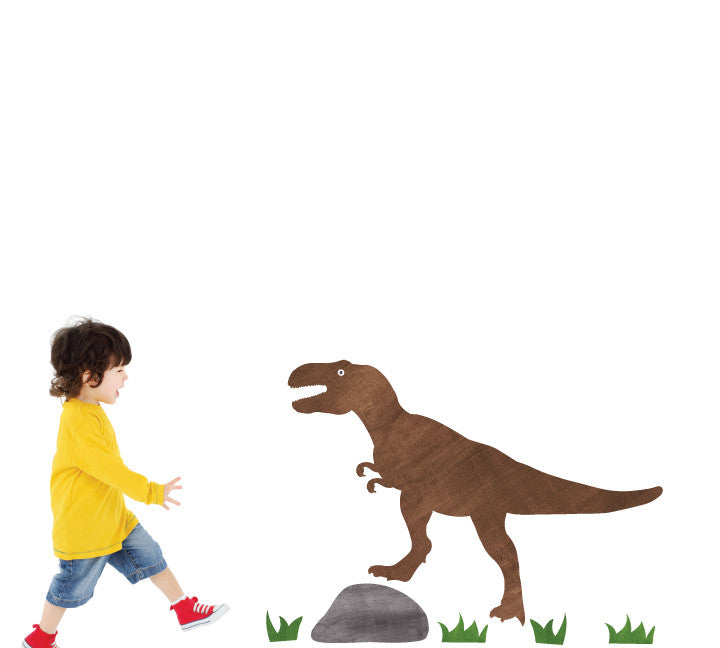 T-Rex Wall Decals - Dinosaur Fabric Wall Decals Large