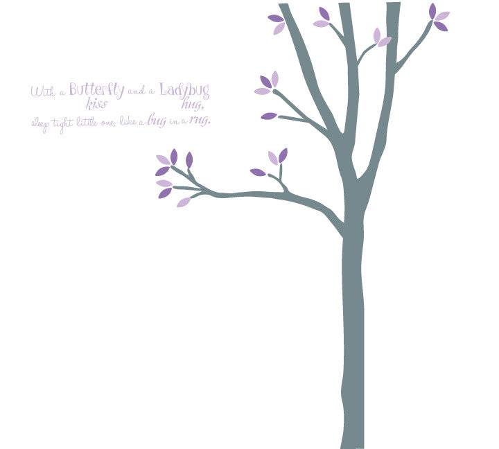 Tree Fabric Wall Decal