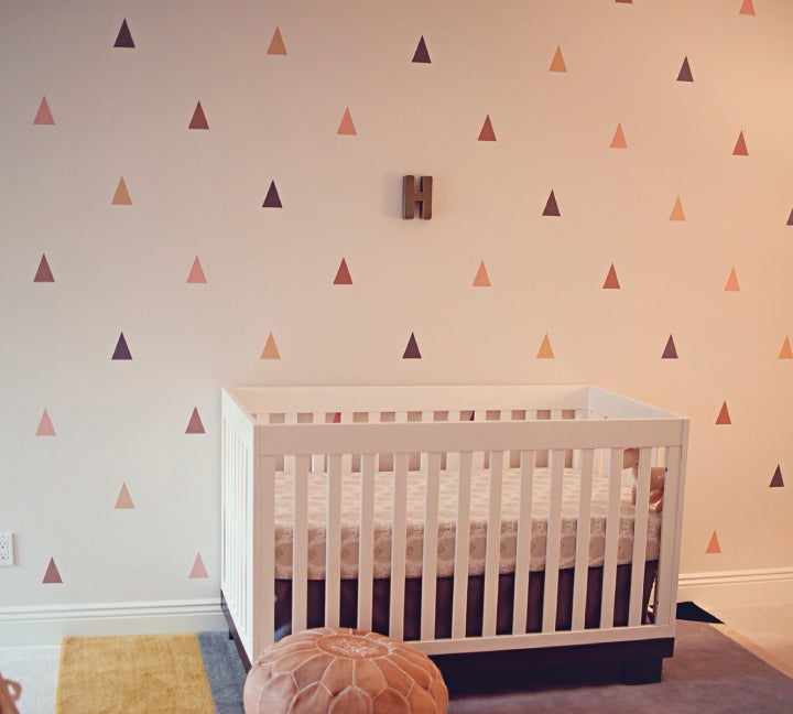 Triangle Wall Decals - Fabric Wall Decals