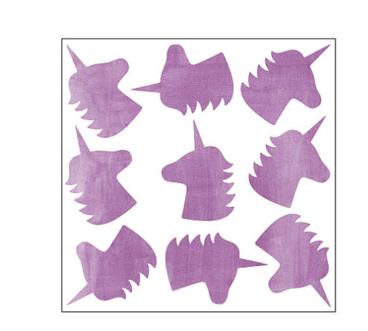 Unicorn Wall Decals - Unicorn Fabric Wall Decals