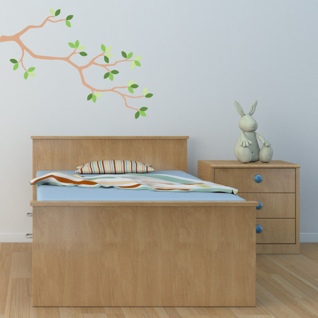 Branch Wall Decal, Tree Fabric Wall Decal