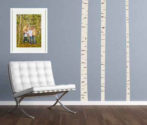 BirchTree Fabric Wall Decals & Adults and Teens | Eco Wall Decals
