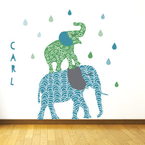 Elephant Wall Decals
