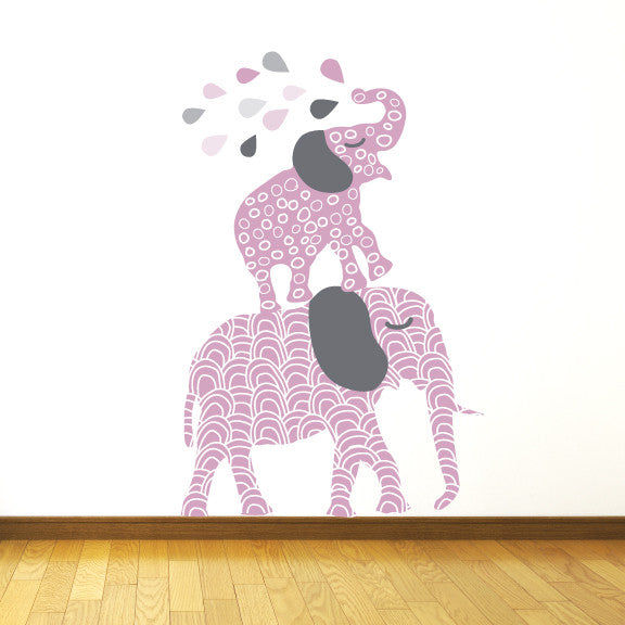 Elephant Fabric Wall Decals