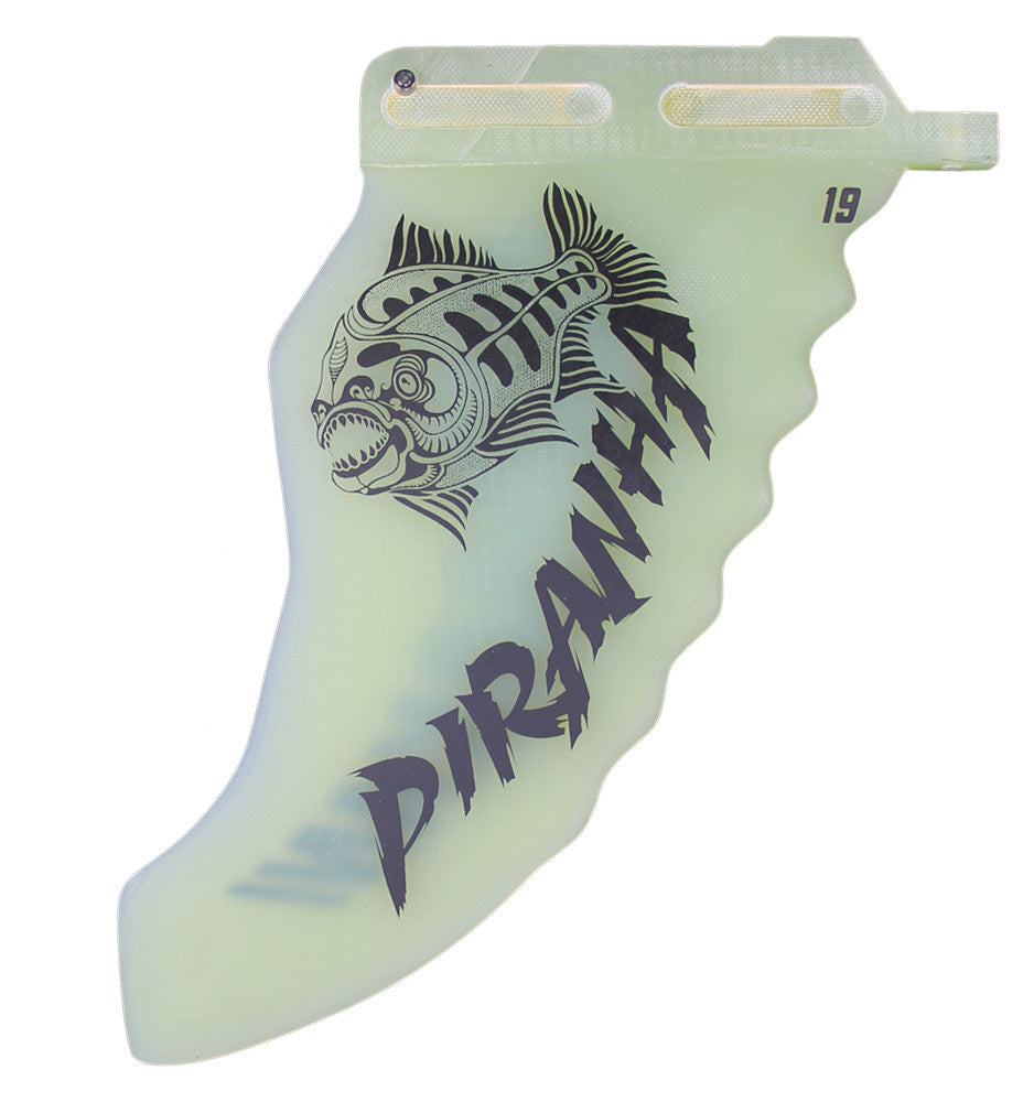 WINDSURFING FINS , Makani Fins, PIRANHA: Pure Wave (Single, Twin, Thruster, Quad) - 1