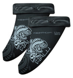 WINDSURFING FINS , Makani Fins, WALU Mini Twin: Wave (3 or 4 fins setup) - 1