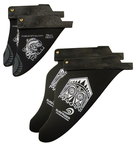 WALU WEED Twin: Wave (2 or 4 fins setup)