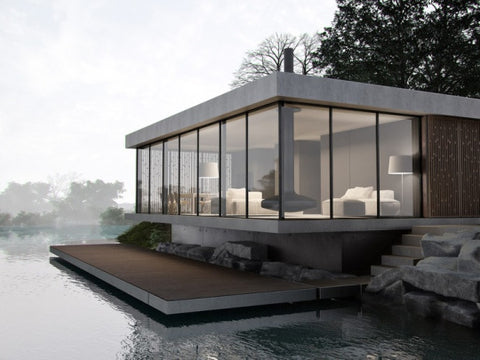 grey lakehouse