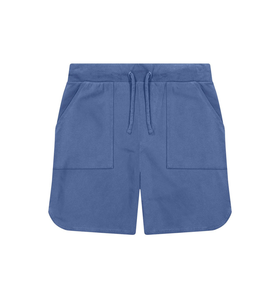 Sun-Faded Micro Terry Short | Goodlife Navy