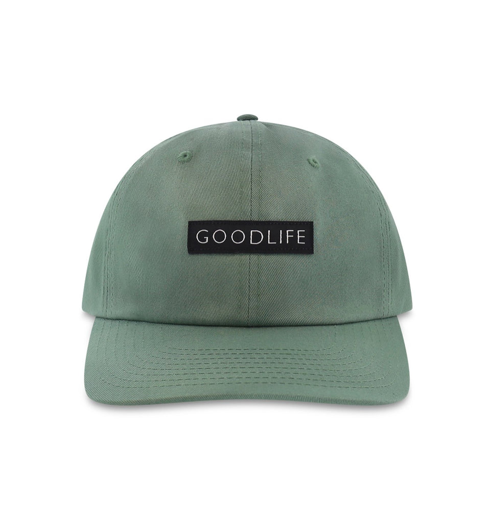 Curved Brim Box Logo Hat | Laurel
