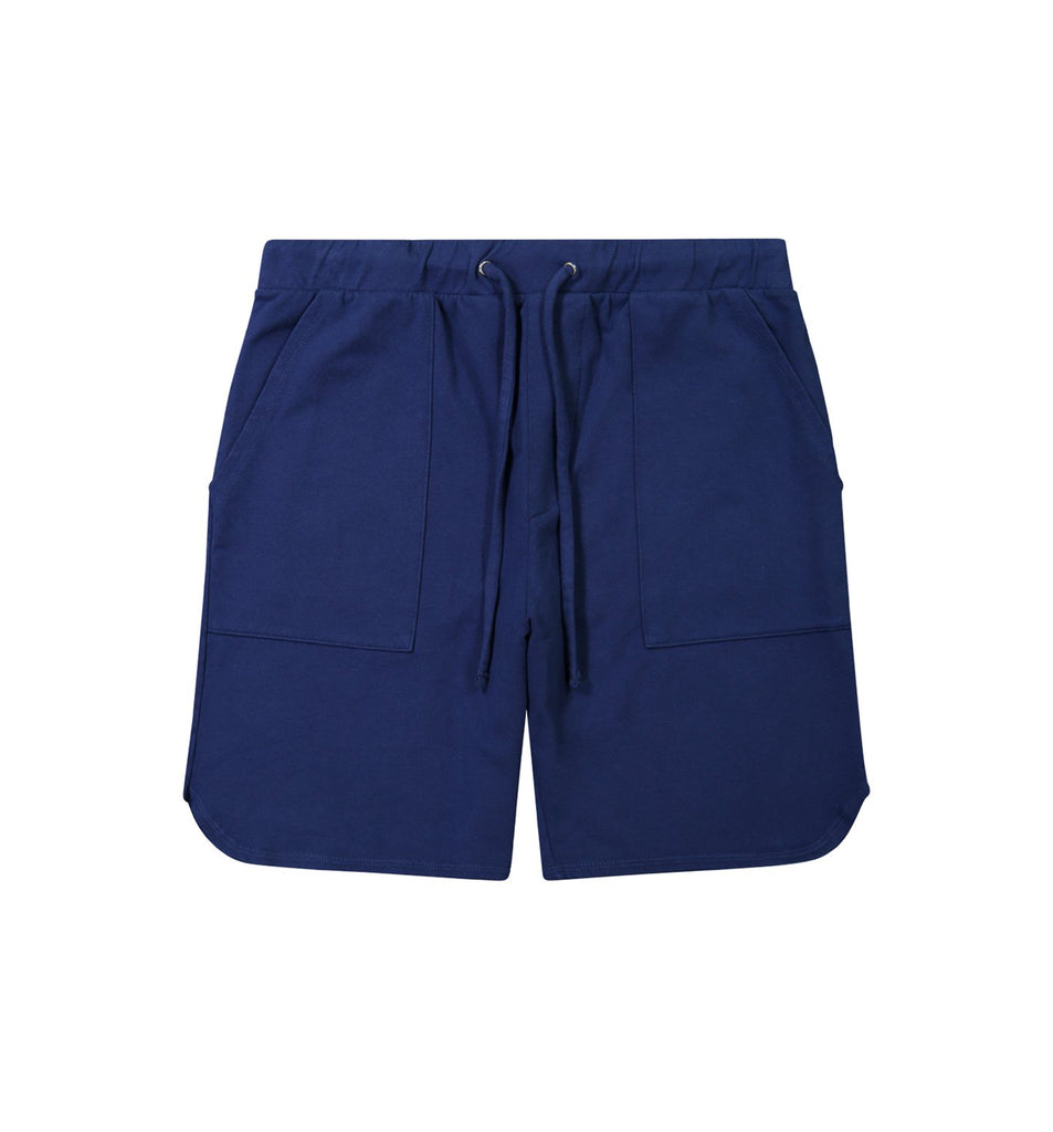 Micro Terry Scallop Short | Goodlife Navy