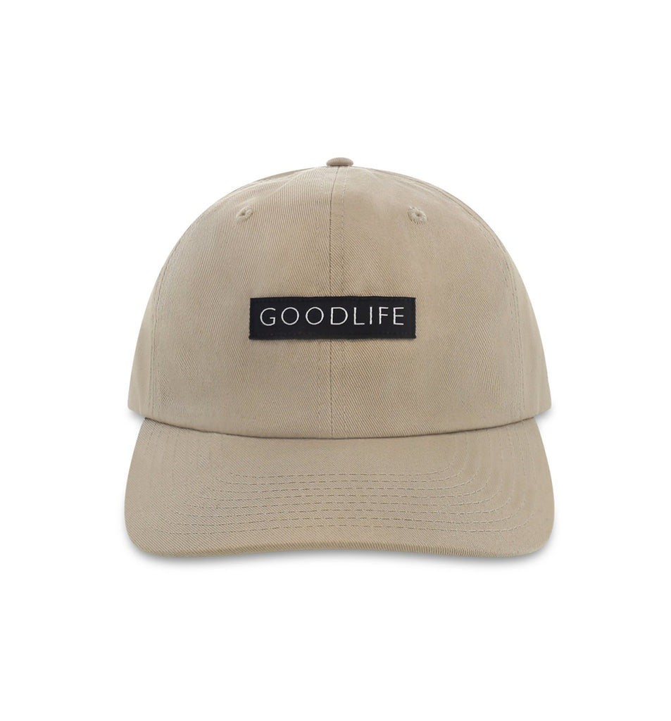 Curved Brim Box Logo Hat | Pelican
