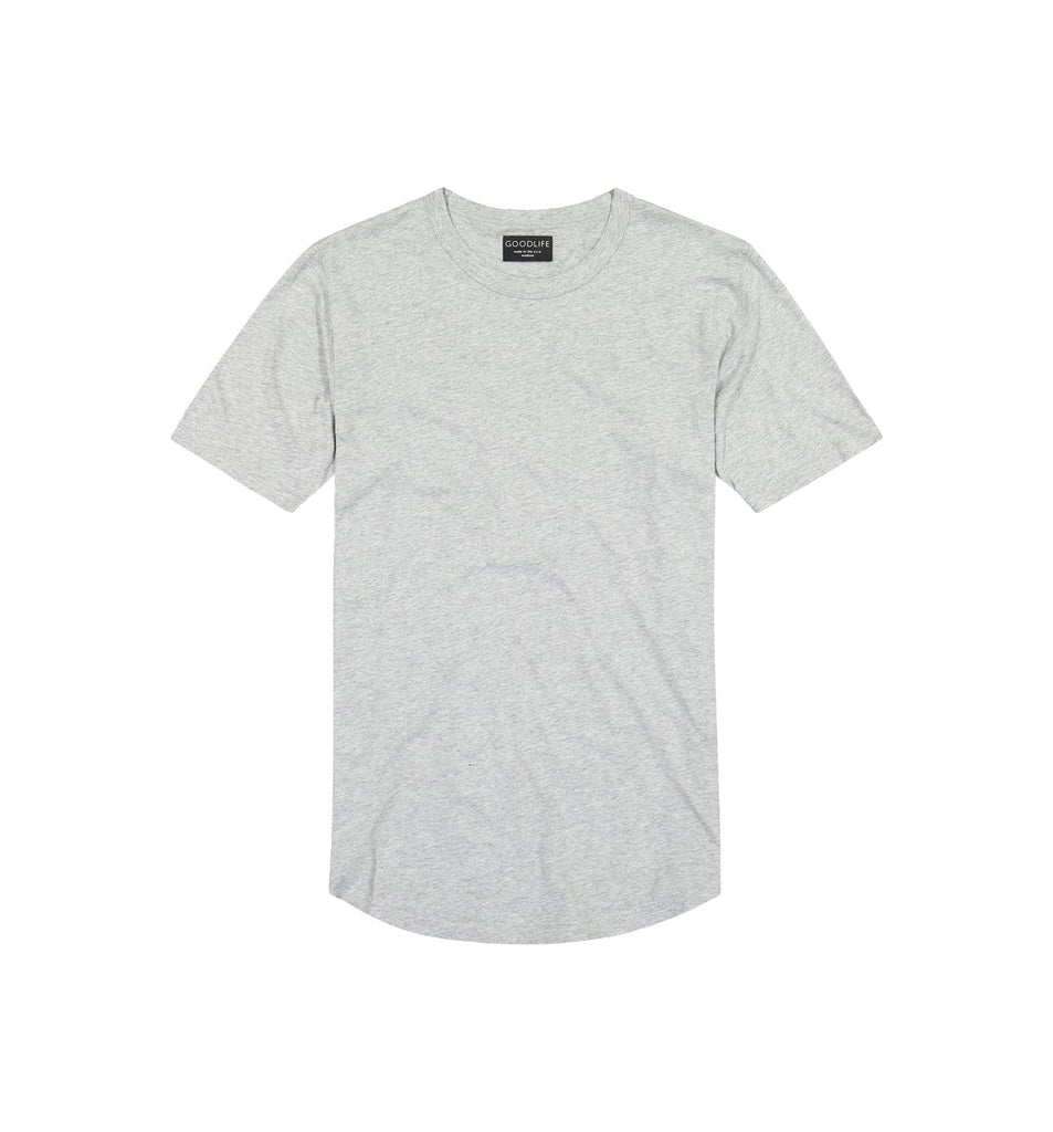 Supima Scallop Crew | Lt. Heather Grey